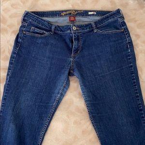 Arizona jeans super skinny jeans size 15